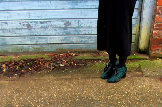 Velvet shoes 2
