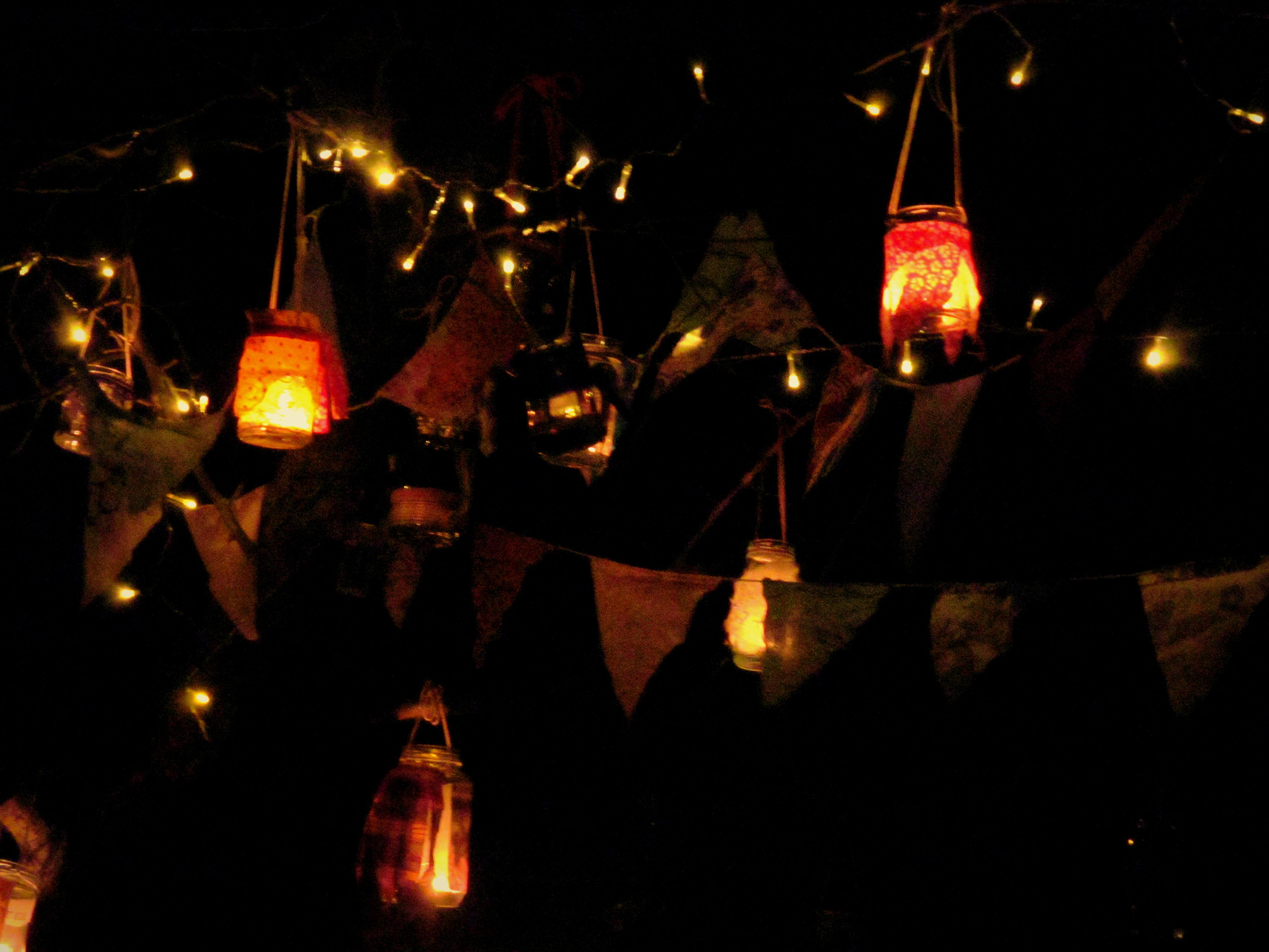 Jam Jar Lanterns 1