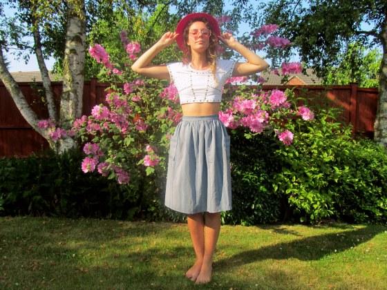 pink in the garden 1