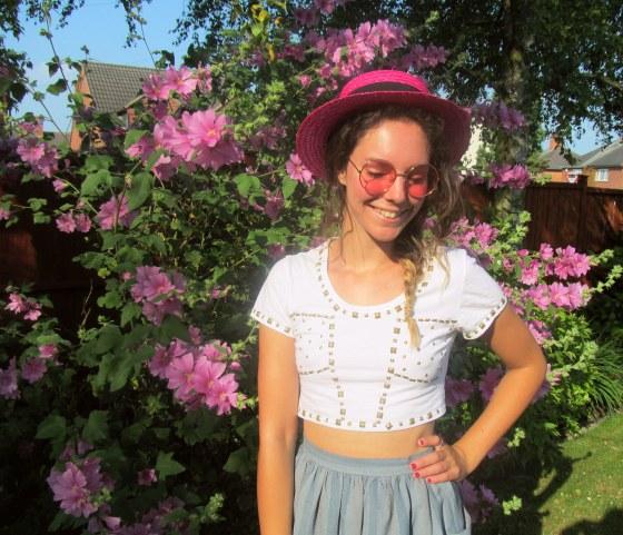 pink in the garden 4