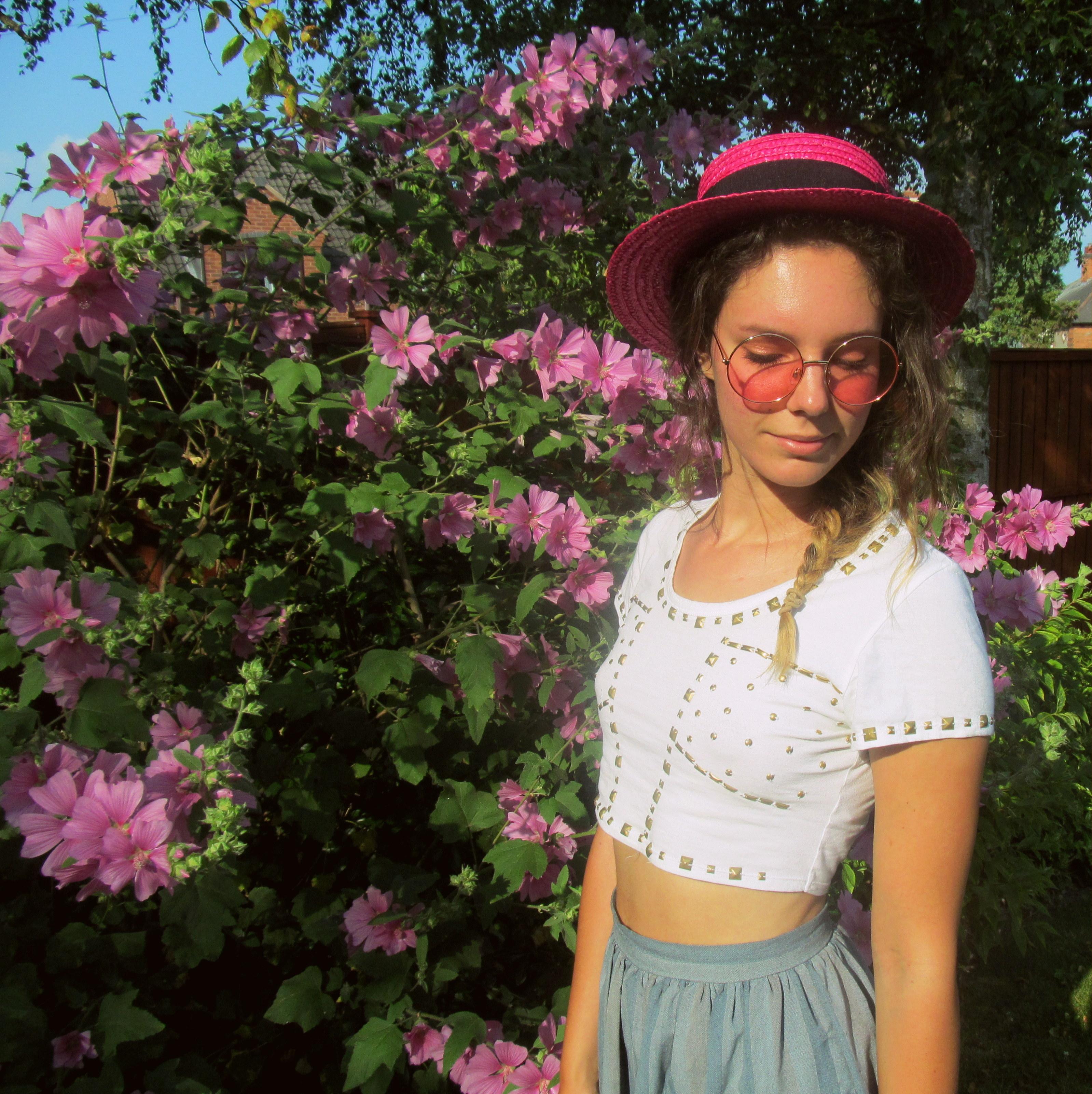 pink in the garden 7