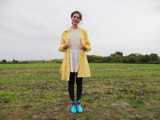 polka dots and wellie boots 3