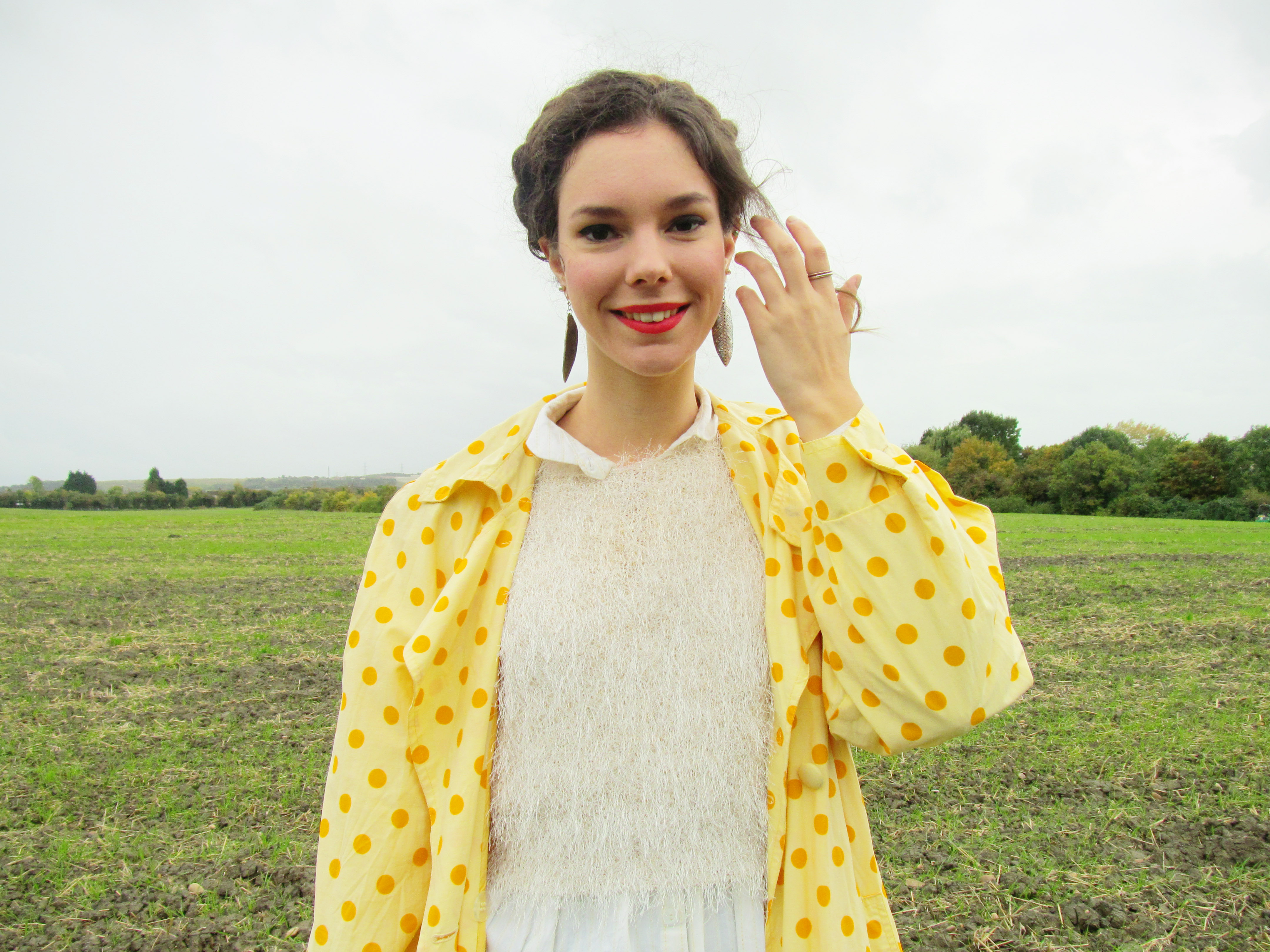 polka dots and wellie boots 2