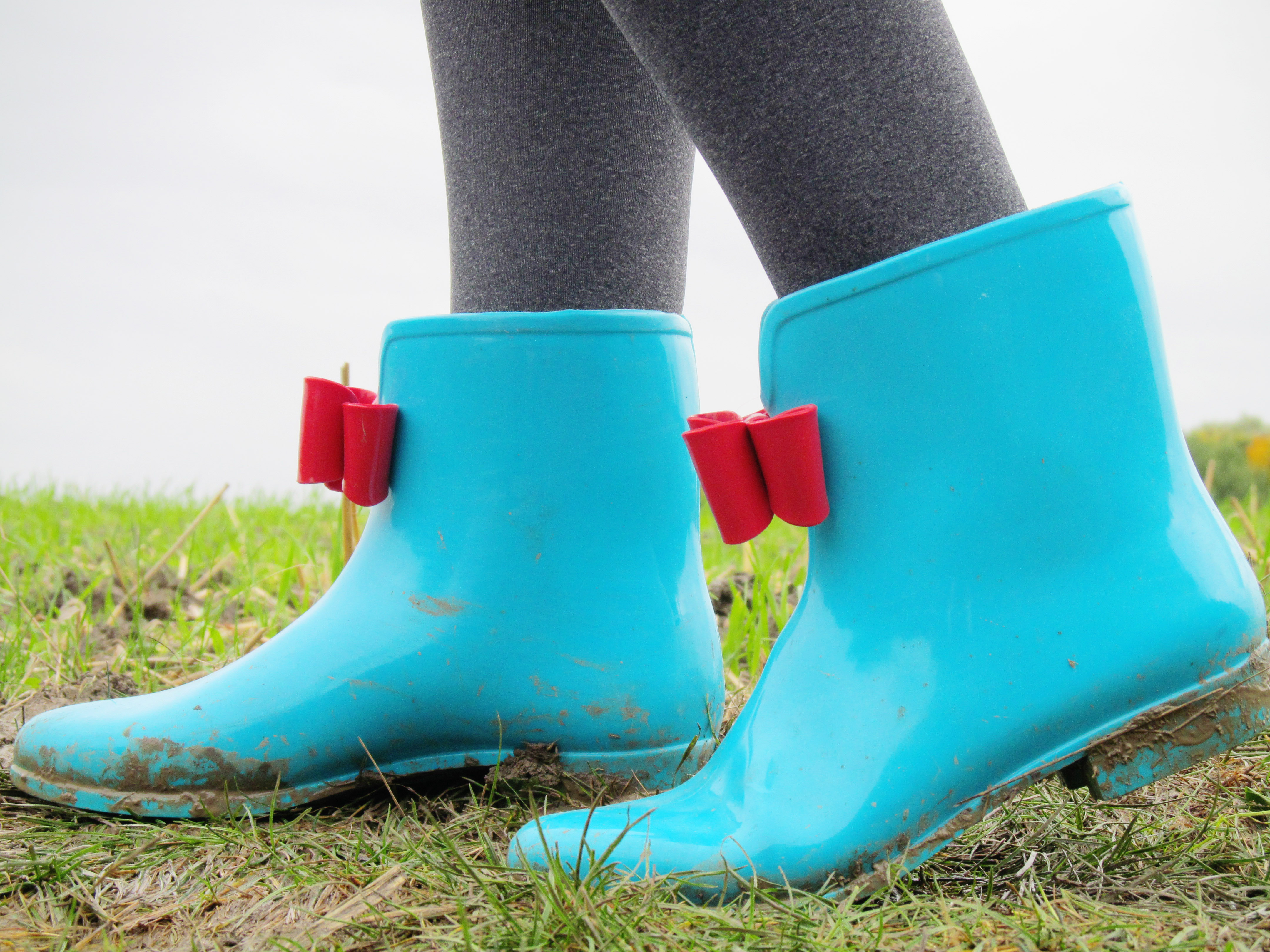 polka dots and wellie boots 4
