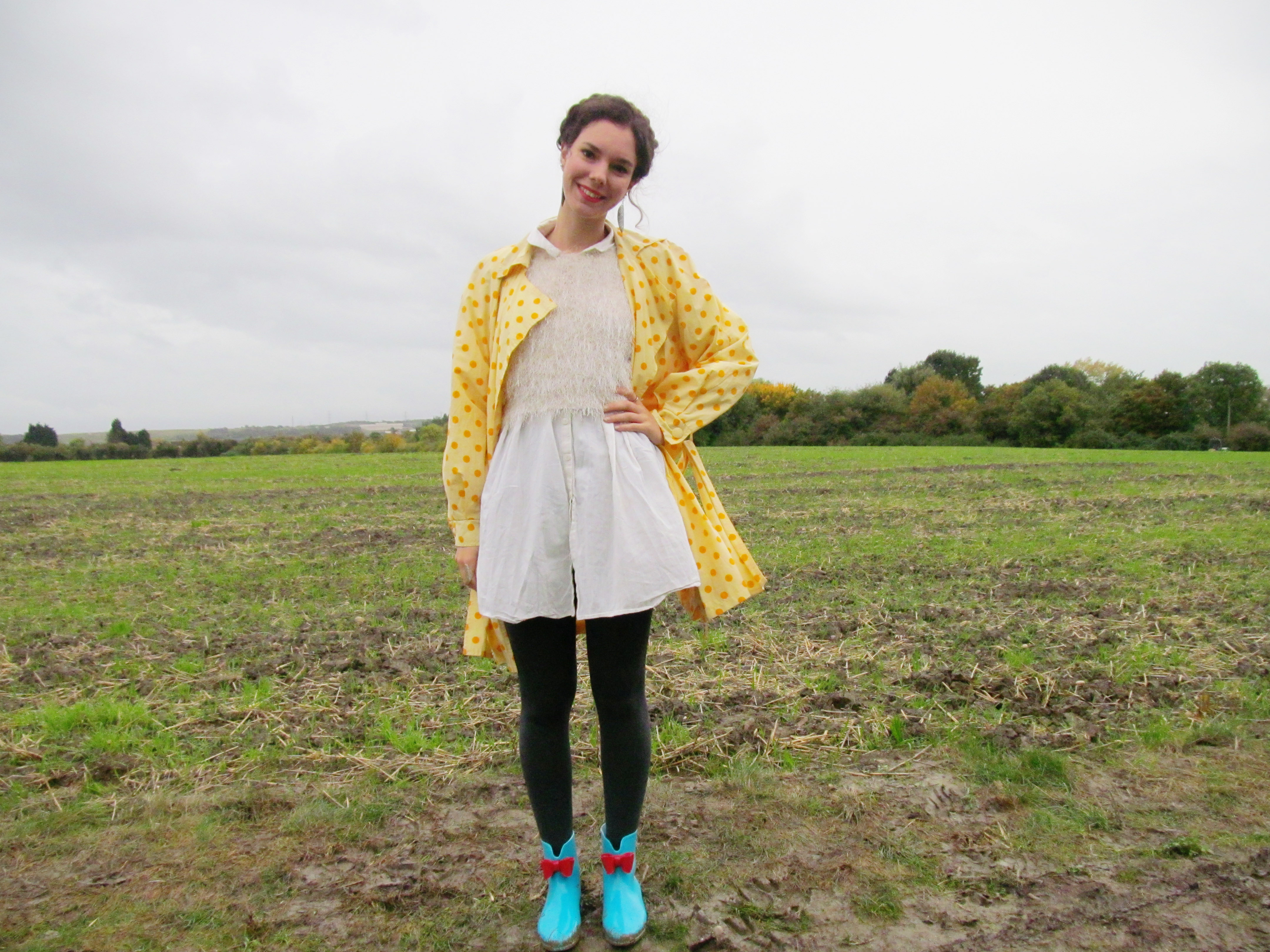 polka dots and wellie boots 8