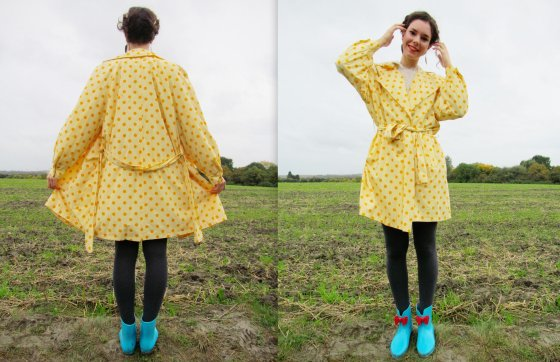 Polka dots and wellie boots 6