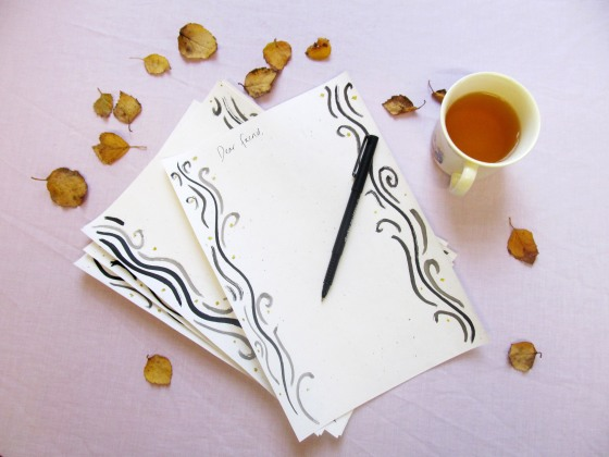 letter paper 1