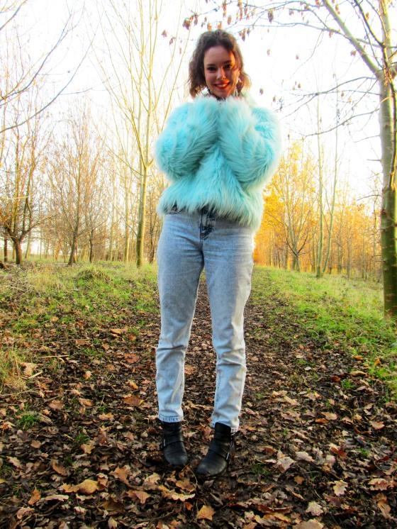 blue fur coat 7