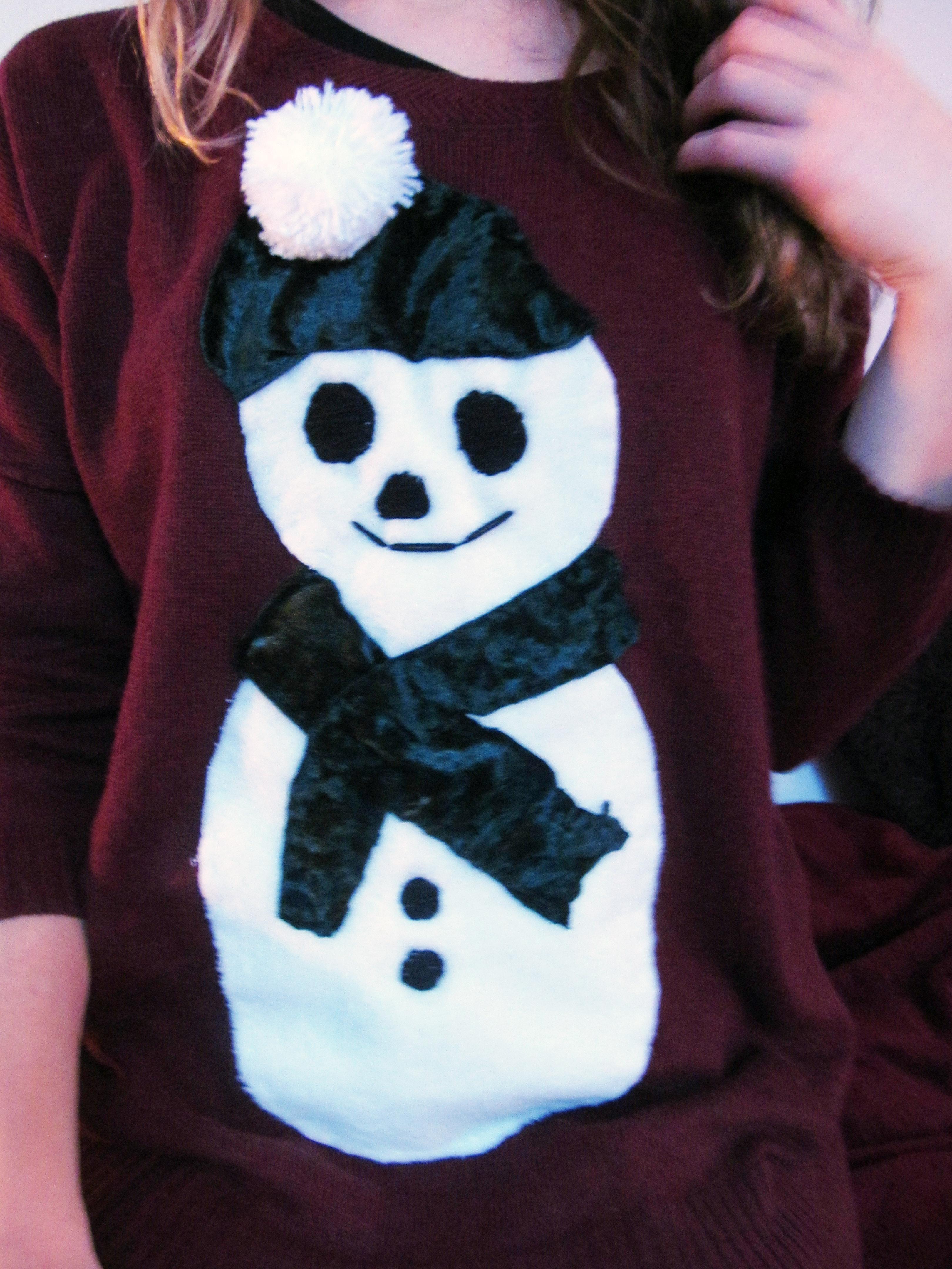 snowman jumper 2