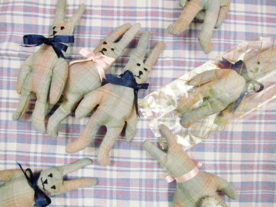 lavender bunnies 1