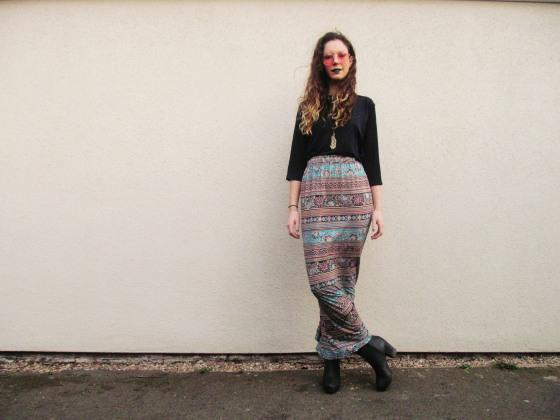 Jessthetics / How To Make A Maxi Skirt